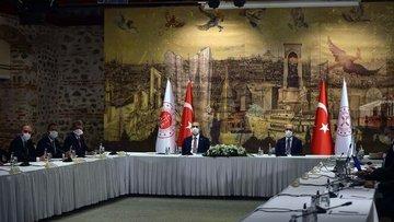 Bakan Elvan ve Gül, TÜSİAD yönetimiyle bir araya geldi
