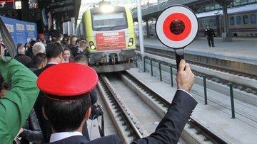 Çin'e ilk ihracat treni buzdolabı taşıyacak