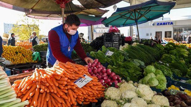 TCMB: Enflasyondaki yükselişin sürükleyicisi gıda ve temel mal grupları