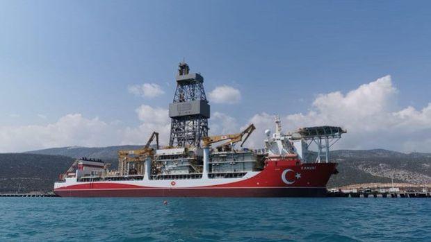 Kanuni sondaj gemisi sondaja hazırlanıyor