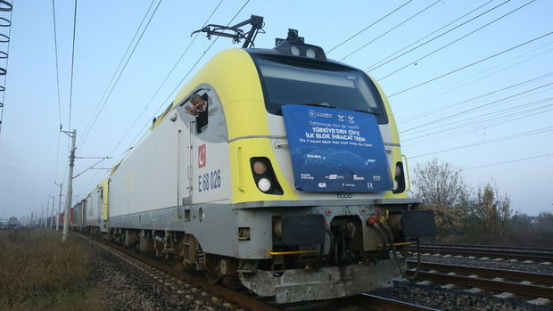 Ulaştırma Bakanı: Çin'e giden ilk ihracat treni yoluna devam ediyor