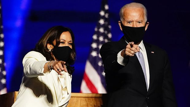 Time dergisi, Joe Biden ve Kamala Harris'i