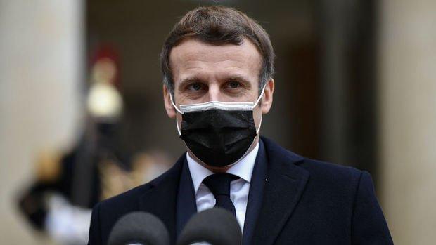 Macron'un koronavirüs testi pozitif