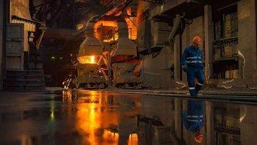 Borsada çelikten ivme