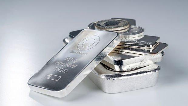 Gümüşte sert düşüş