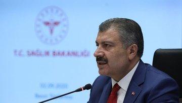 Koca: 6,5 milyon doz aşı pazartesi sabahı Türkiye'de olacak