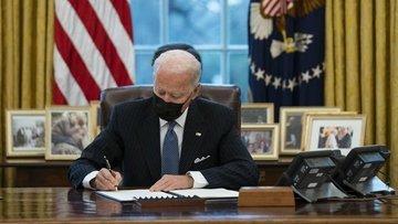 """Biden'dan """"Amerika'da üretin"""" kararnamesi"""