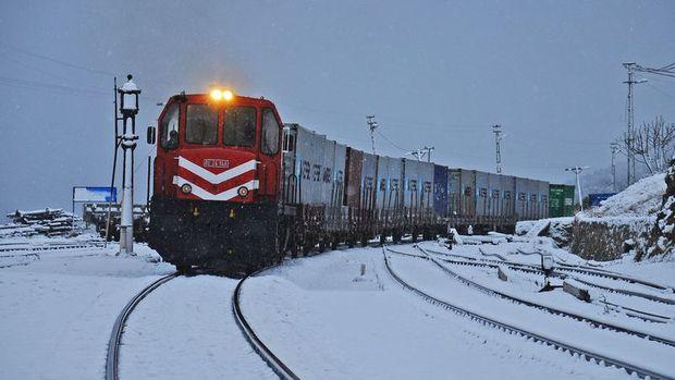 Rusya'ya ihracat treni yola çıkıyor