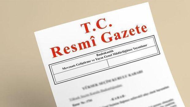Hazine Bakanlığı'ndaki ve TVF'deki atamalar Resmi Gazete'de yayımlandı