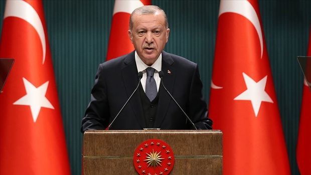 Erdoğan'dan 'yeni anayasa' çıkışı