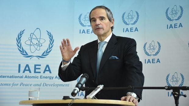 UAEA Başkanı Grossi, İran'da