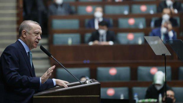 Erdoğan: Rezervler kurdaki dalgalanmayı önlemek için kullanıldı