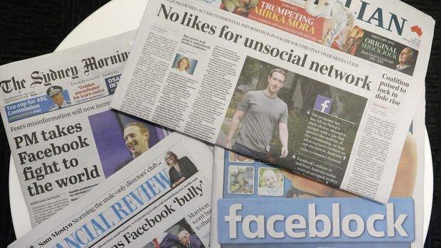 Avustralya'da Facebook ve Google'ın medyaya ücret ödemesini öngören yasaya onay