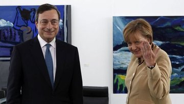 Avrupa siyasetinin yıldızı artık Merkel değil Draghi