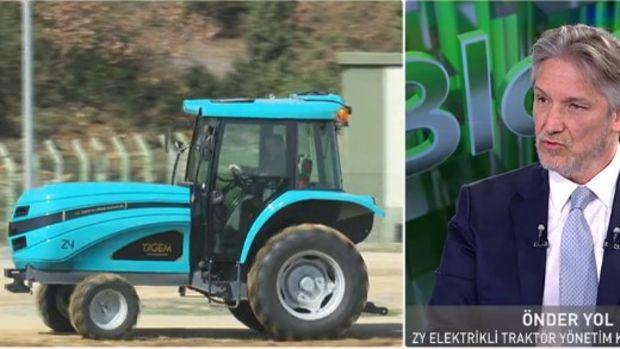 Elektrikli traktör için Haziran'da seri üretime geçiliyor