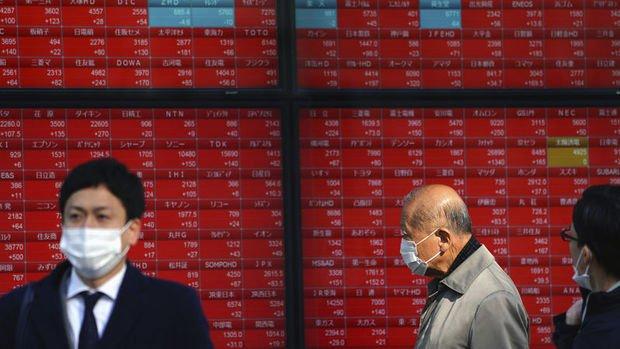Asya borsaları tahvil faizlerinin tekrar yükselmesiyle negatif seyretti