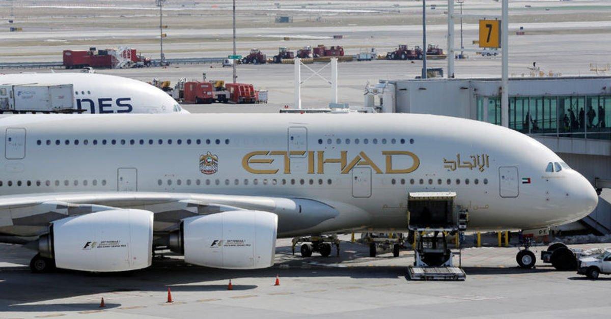 Etihad Hava Yolları salgın nedeniyle 2020'de 1,7 milyar dolar zarar etti