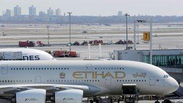 Etihad Hava Yolları salgın nedeniyle 2020'de 1,7 milyar d...