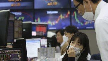 Asya borsaları küresel borsalardaki satışa paralel geriledi