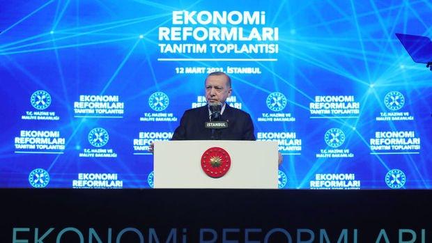 Erdoğan ekonomi reform paketini açıkladı