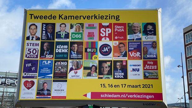 Hollanda yarın sandık başına gidiyor