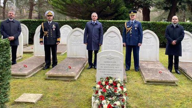 18 Mart Çanakkale Zaferi'nde şehitler İngiltere'de anıldı