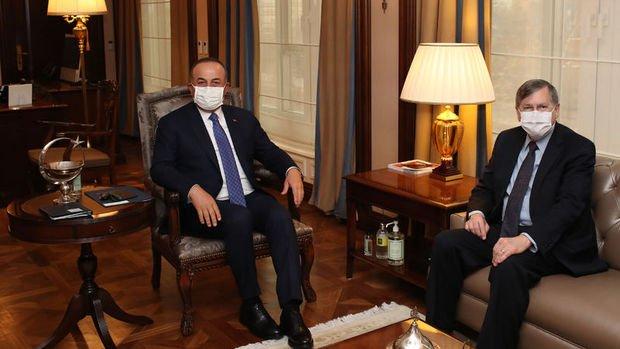 Bakan Çavuşoğlu ABD Büyükelçisi Satterfield ile görüştü