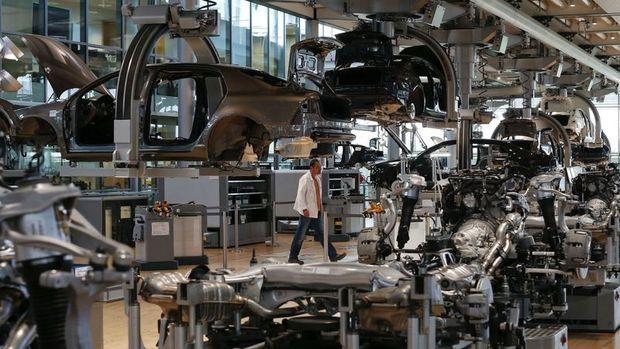 Almanya'da imalat PMI rekor kırdı