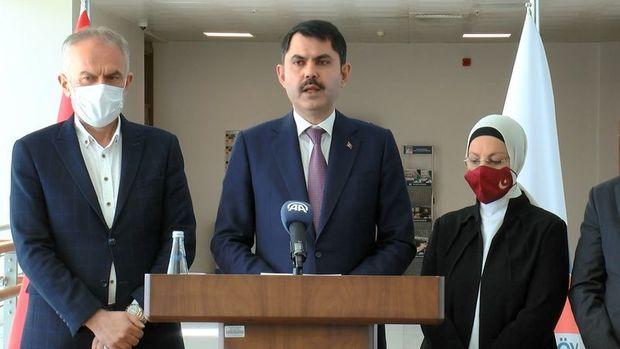 Bakan Kurum: Kanal İstanbul için imar planlarını onayladık ve askıya çıkardık