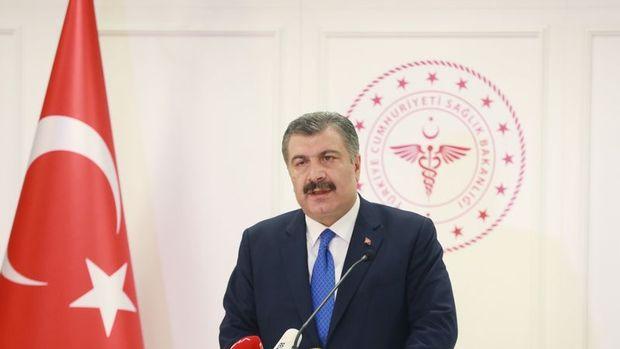 Sağlık Bakanı Koca, Türkiye Kovid-19 risk haritasını paylaştı