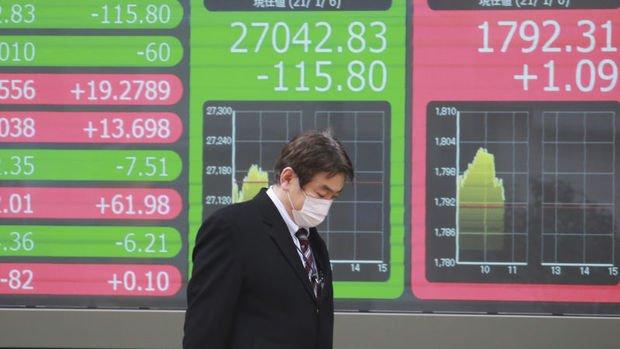 Asya borsaları karışık seyretti, Çin'de veriler toparlanmayı destekliyor