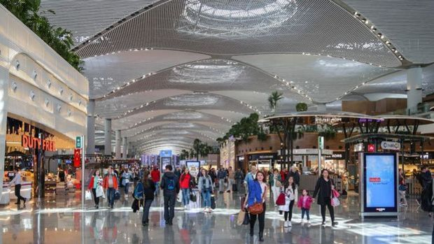 Havalimanlarında martta 7 milyon yolcuya hizmet verildi