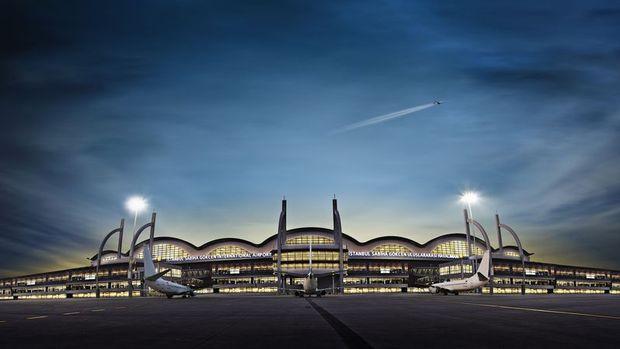Sabiha Gökçen Havalimanı 2021'in ilk çeyreğinde 4.2 milyon yolcu ağırladı