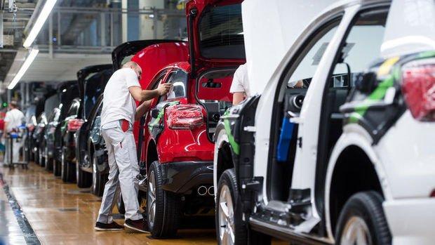Otomotivde ihracat ilk çeyrekte % 6 azaldı