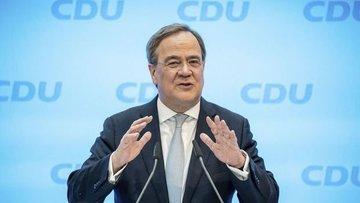 Merkel'in partisi Başbakan adaylığı için Laschet'i destek...