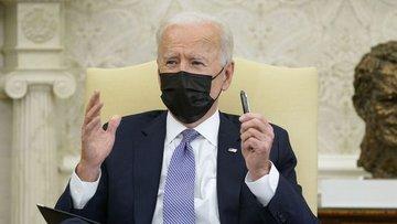 Biden, altyapı paketini Kongre üyeleri ile Oval Ofiste gö...
