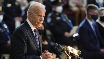 ABD Başkanı Joe Biden, 28 Nisan'da ortak oturumda Kongrey...