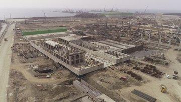 Tosyalı Holding'in 2,5 milyar dolarlık çelik fabrikası ya...