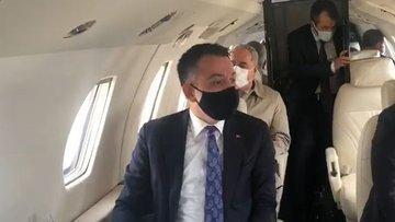 Uçağı acil iniş yapan Tarım Bakanı Pakdemirli'den ilk açı...