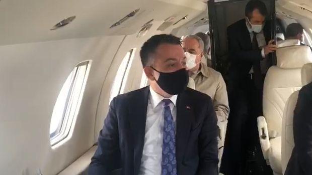 Uçağı acil iniş yapan Tarım Bakanı Pakdemirli'den ilk açıklama