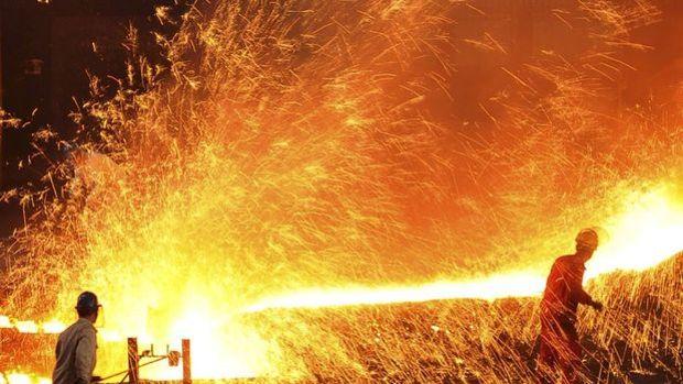 Çelikte üreticiler ilk çeyrekte iç piyasaya yöneldi