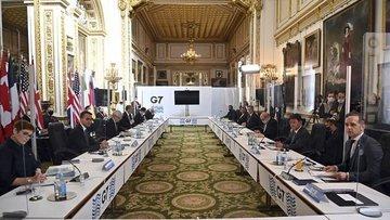 G7 bildirisinde Çin'e yönelik eleştiriler yer aldı