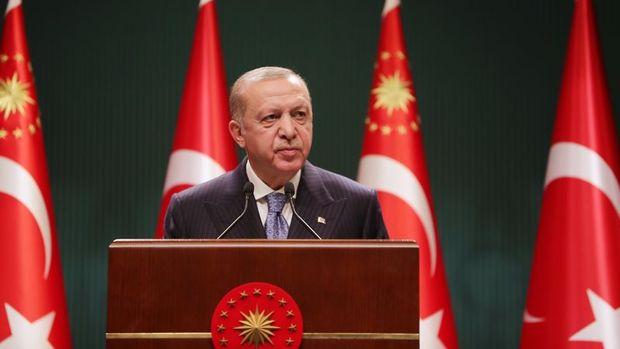 Erdoğan'dan AB üyeliği için kararlılık vurgusu