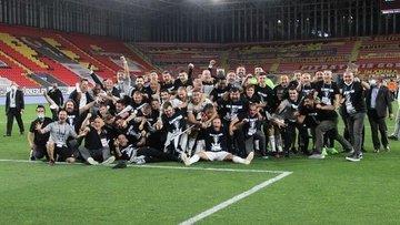 Süper Lig'de 2020-2021 sezonu şampiyonu Beşiktaş oldu