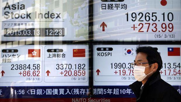 Asya borsaları Çin verileri öncesinde karışık seyretti