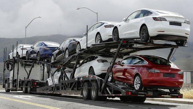 Tesla'nın Çin'de üretilen otomobil satışları yüzde 29 arttı