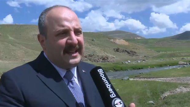 Varank: 2022'nin son çeyreğinde Ağrı'da altın dökümünü hedefliyoruz
