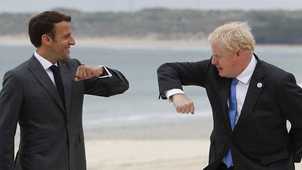 Macron'dan Johnson'a ilişkileri resetleme çağrısı