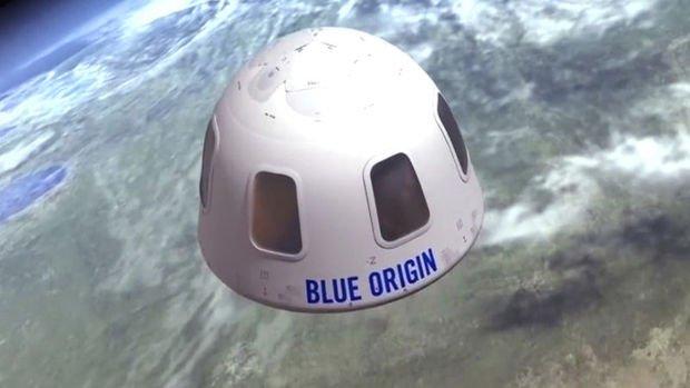 Uzay yolculuğunda Bezos'un yanındaki koltuk 28 milyon dolar