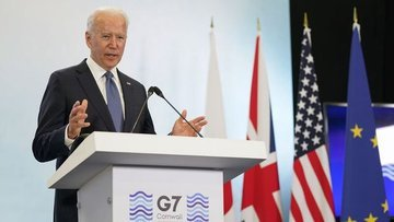 Biden: G-7'de Çin'le ilgili adımlardan tatmin oldum